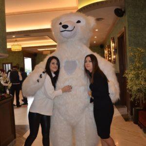 Пневмо костюм Медведь